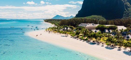 Insel Mauritius im Indischen Ozean