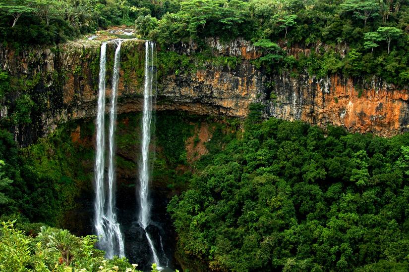 Wasserfall im Black River Gorges Nationalpark