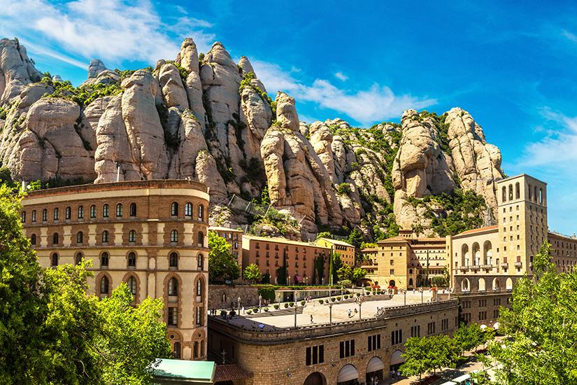 Kloster Montserrat in Katalonien