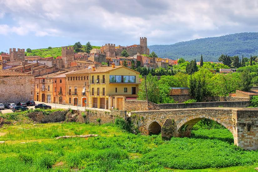 Montblanc in der Provinz Tarragona
