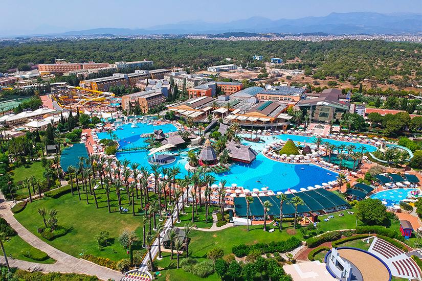 Hotelanlage an der Tuerkischen Riviera