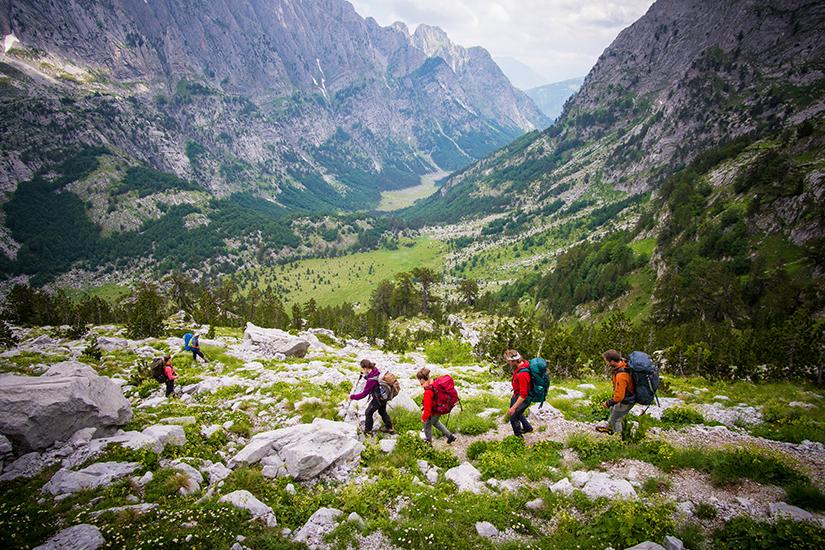 Unterwegs in den Albanischen Alpen