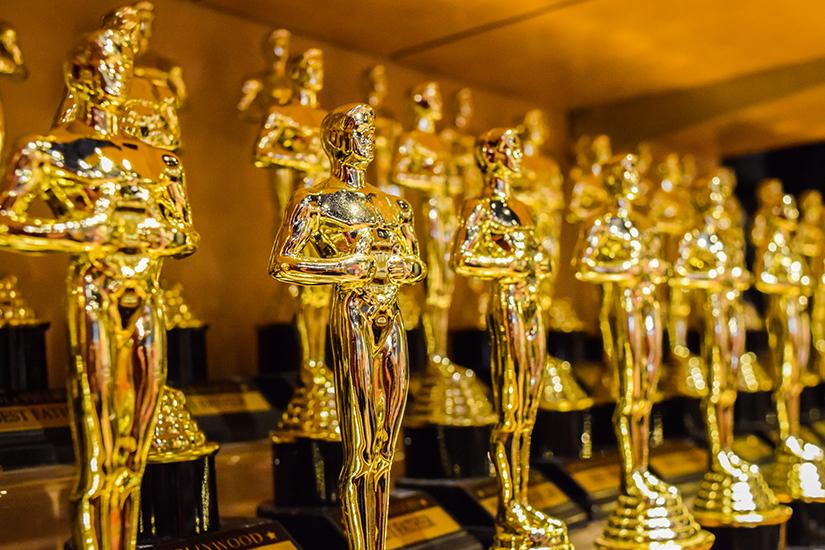 Goldene Oscar Trophaeen