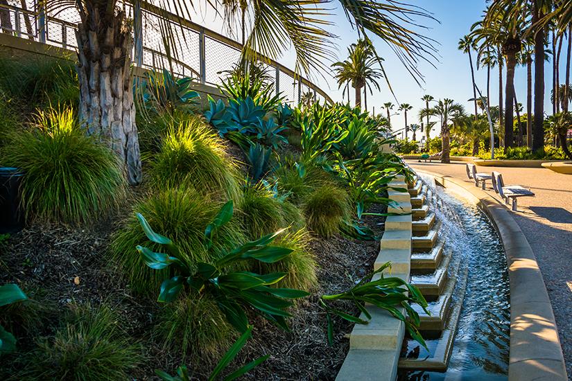 Tongva Park in Los Angeles
