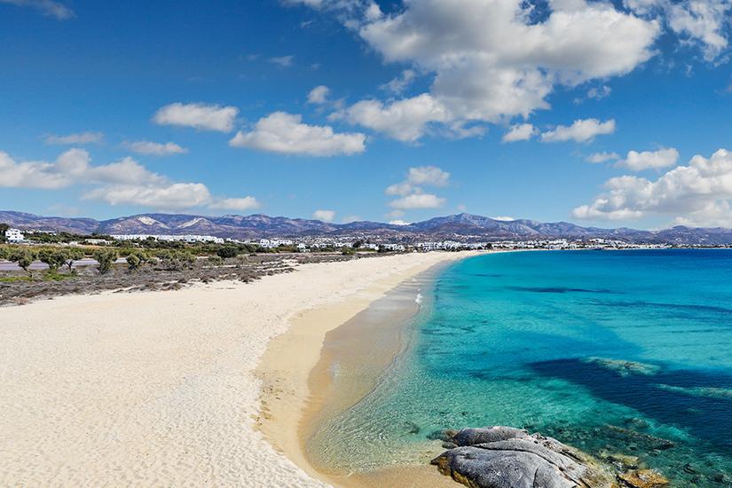 Agios Prokopios Beach auf Naxos