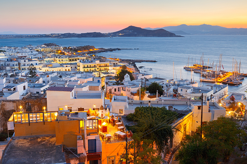 Altstadt von Naxos-Stadt