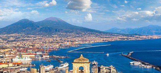 Neapel am Vesuv erkunden