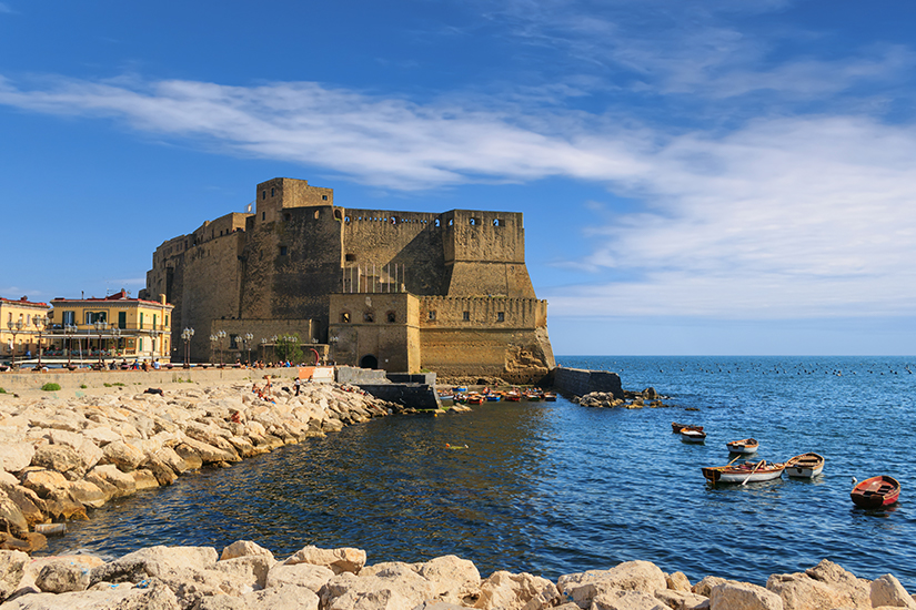 Castel dell'Ovo in Neapel
