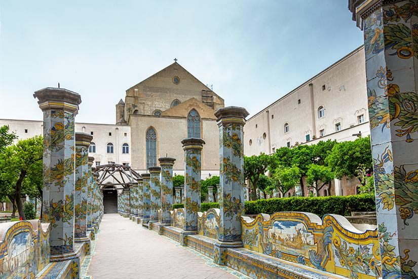 Klostergarten der Basilika Santa Chiara