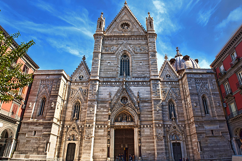 Barocke Kathedrale von Neapel
