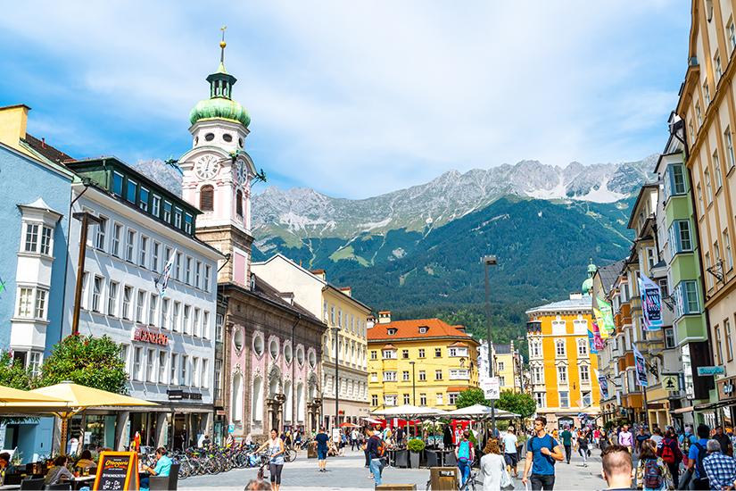 Zentrum von Innsbruck