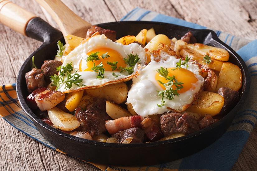 Deftige Tiroler Mahlzeit