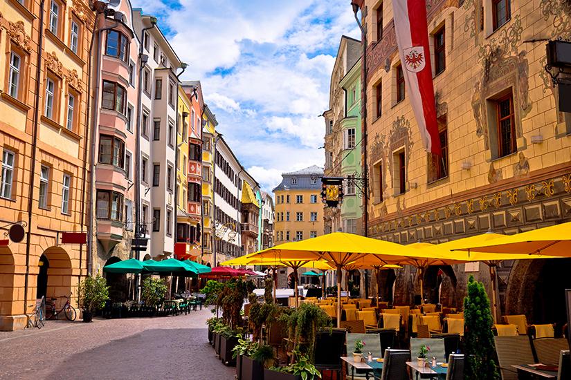Historische Altstadt von Innsbruck