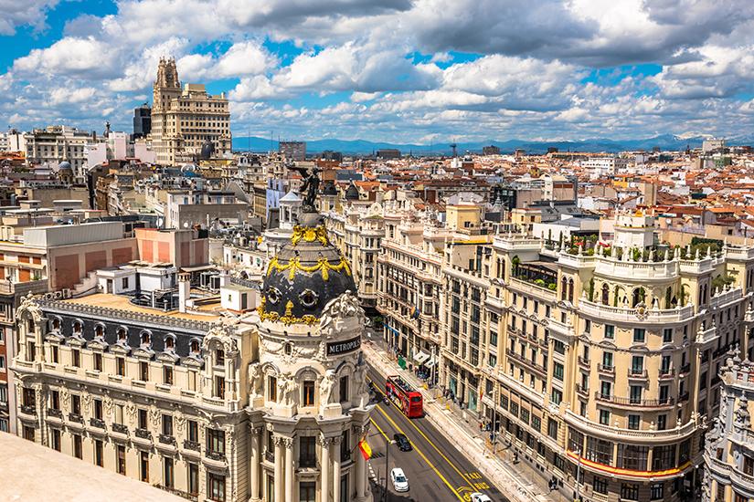 Spanische Hauptstadt Madrid