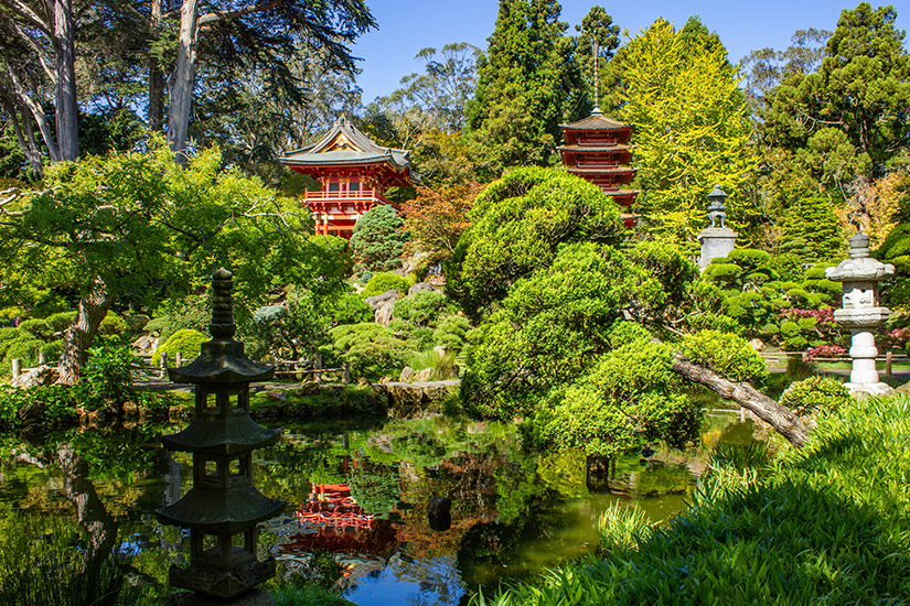 Japanese Tea Garden im Golden Gate Park