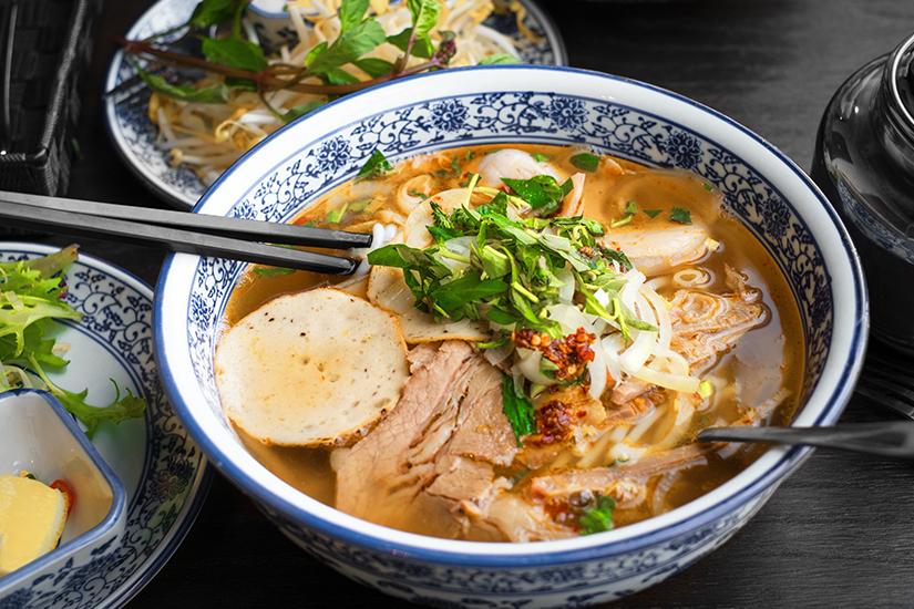 Pho Tom Yum Suppe
