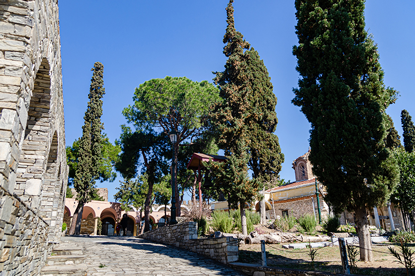 Vlatades Kloster in der Altstadt von Thessaloniki