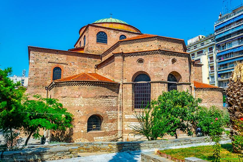 Agia Sofia aus dem 7. Jahrhundert