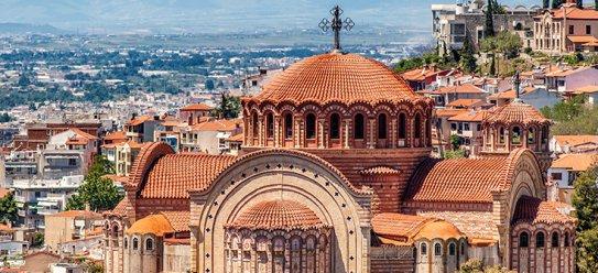 Thessaloniki – griechische Hafenstadt