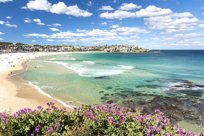 Bondi Beach in Australien