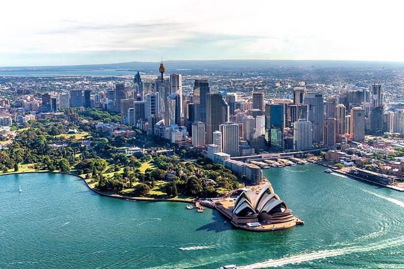 Sydney aus der Luft