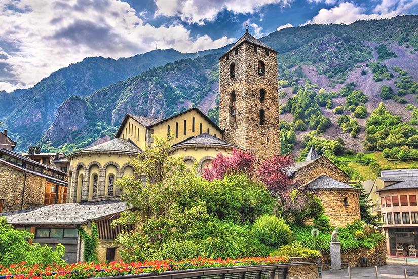 Sant Esteve Kirche in Andorra la Vella