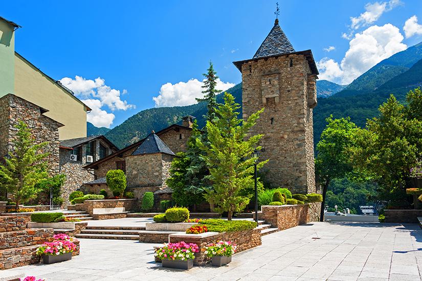 Historischer Teil von Andorra la Vella