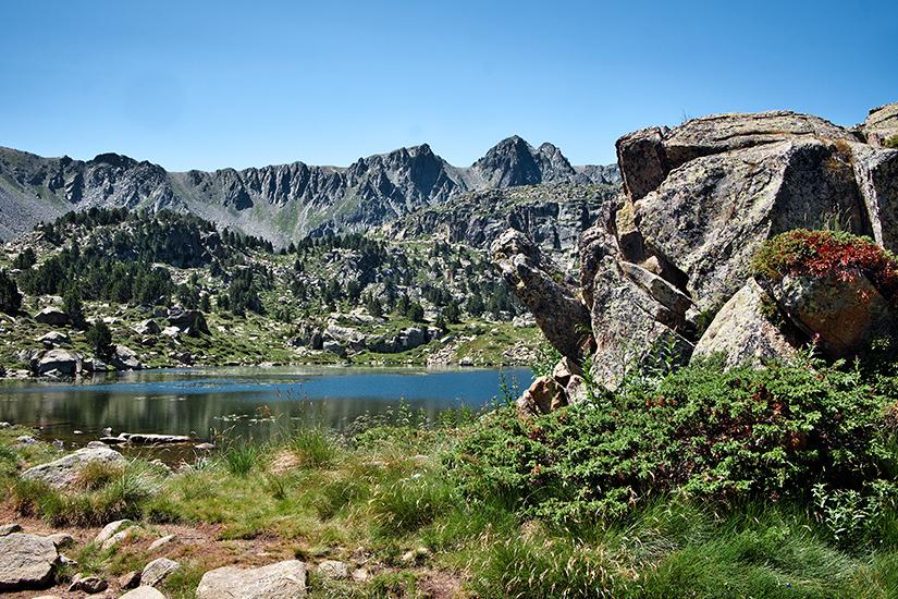 Naturlandschaft in Andorra