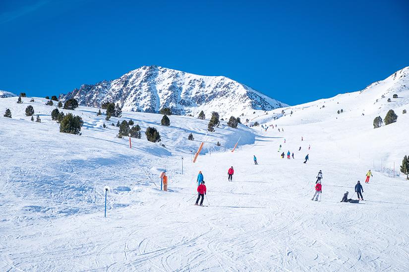 Skifahren in Andorra