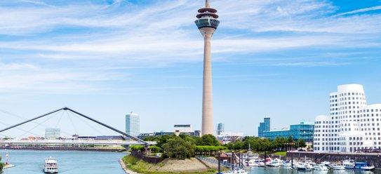 Düsseldorf: Rheinmetropole mit Herz