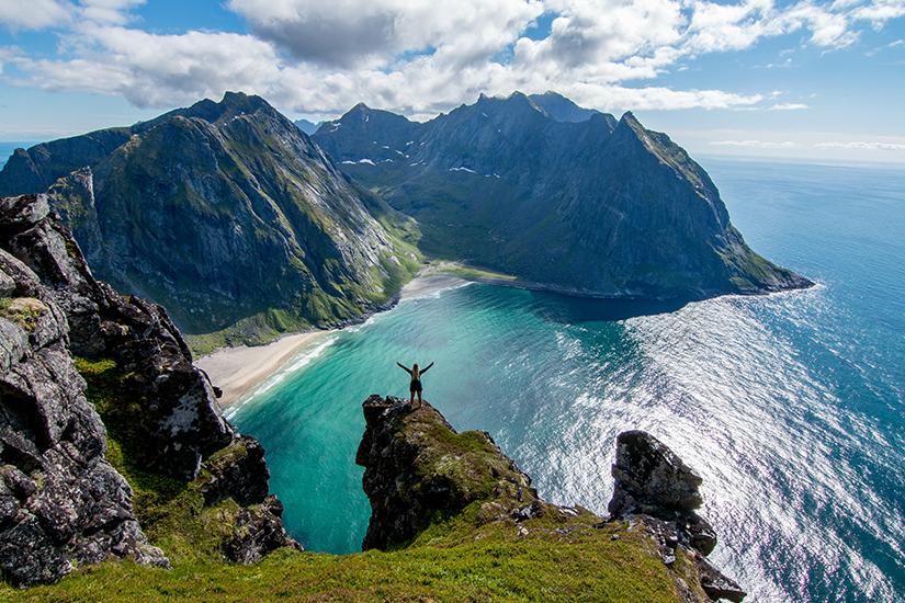 Wandertour durch die Lofoten