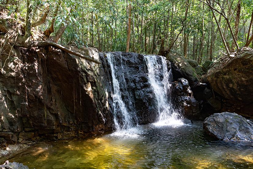 Wasserfall auf Phu Quoc in Vietnam