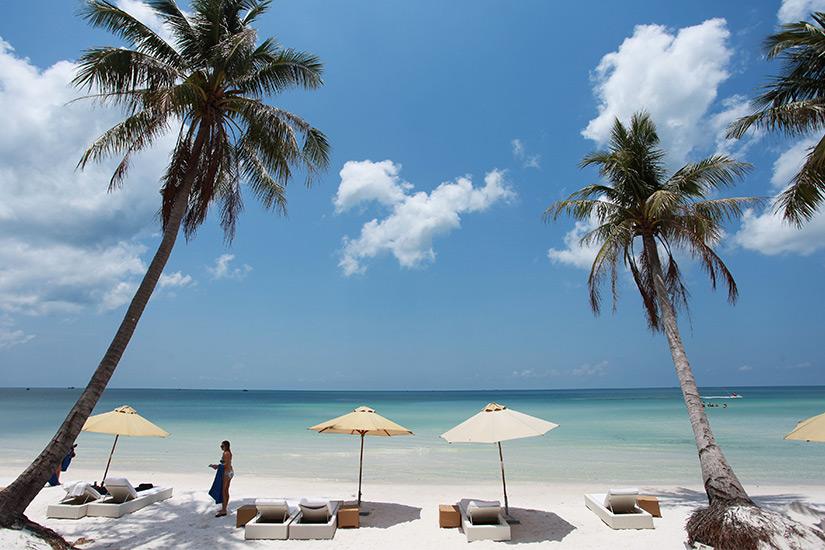 Privater Strand auf Phu Quoc