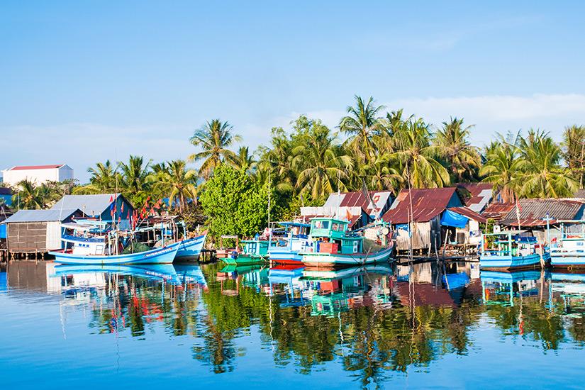 Fischerdorf auf Phu Quoc