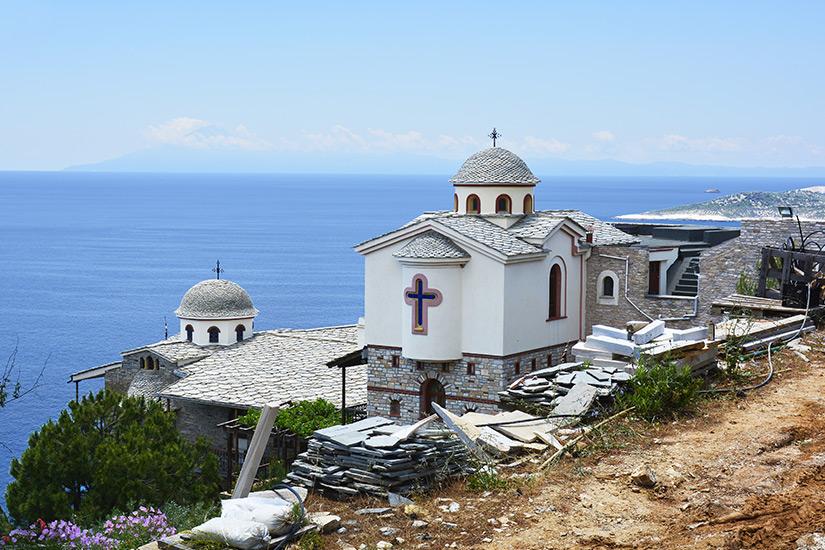 Kloster Archangelou bei Skala Marion