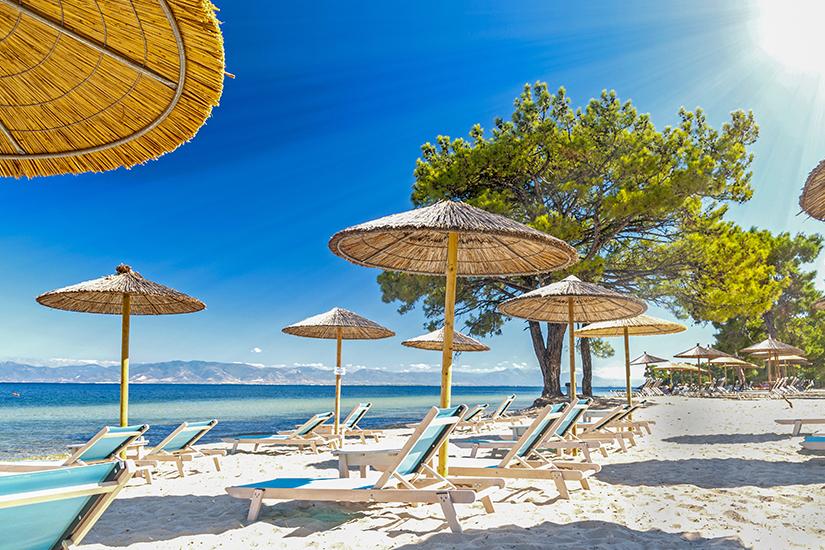 Strand und Sonne auf Thassos