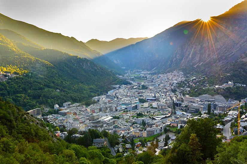 Andorra in den Pyrenaeen