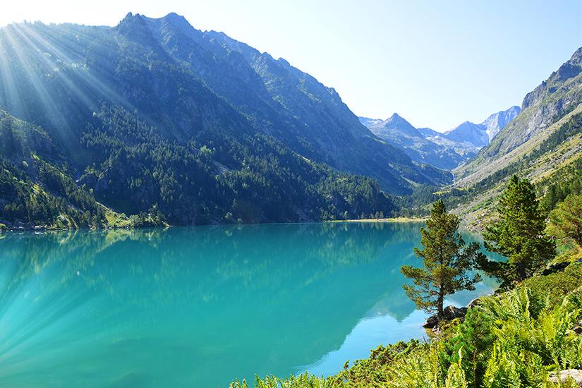 See von Gaube in den Pyrenaeen
