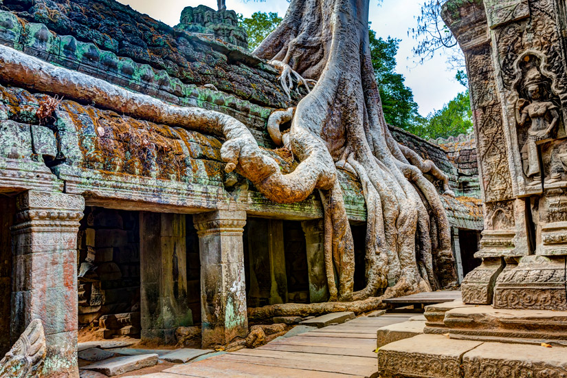 Ta-Phrom-Tempel-Angkor-Wat