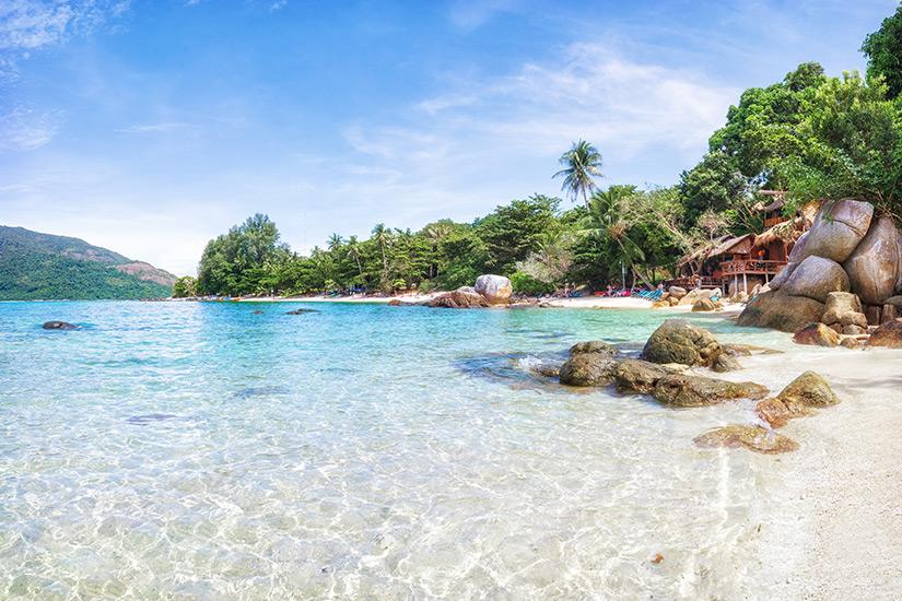 Strand auf Koh Phangang in Thailand