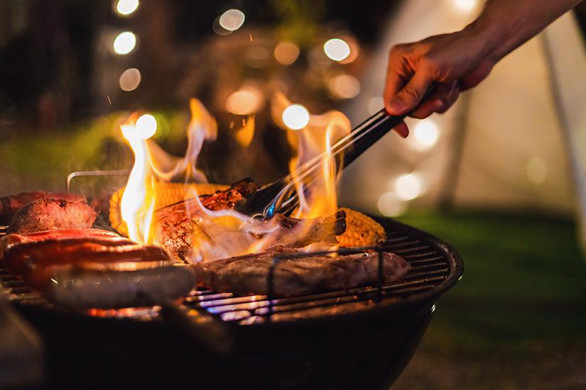 Leckeres Barbecue