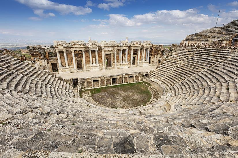 Amphitheater aus der Antike