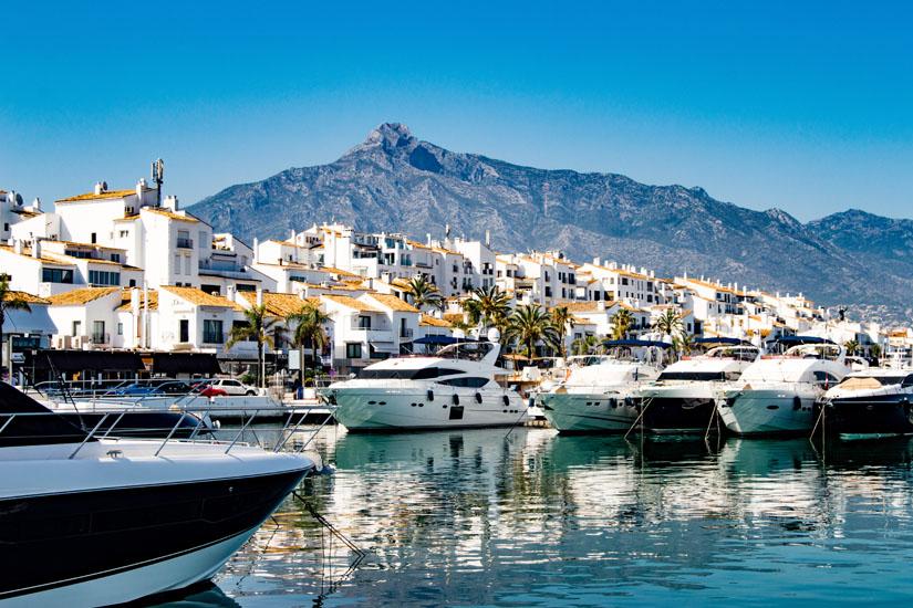 Yachthafen von Marbella