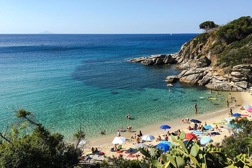 Spieggia di Cavoli auf Elba