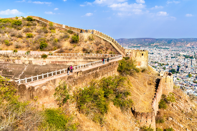 Nahagarh Fort mit Blick auf Jaipur