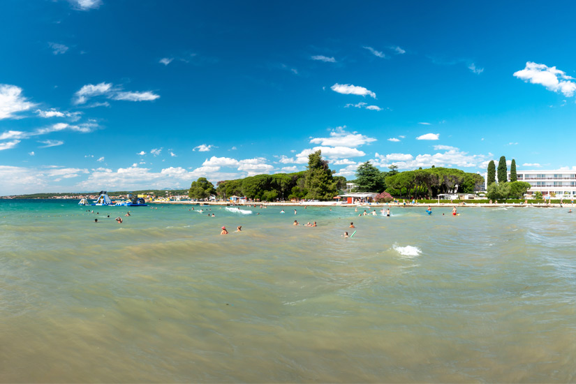 Strand Borik bei Zadar