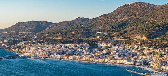 Insel Samos in Griechenland