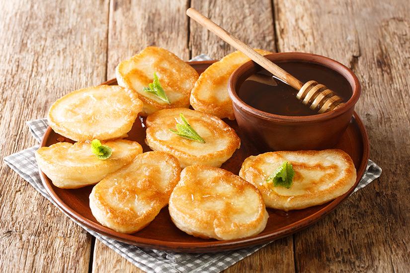 Griechische Pfannkuchen