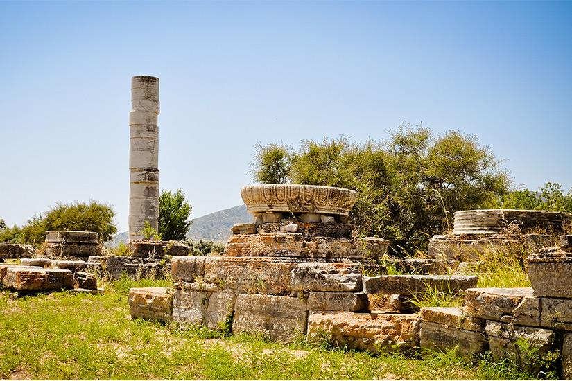 Tempel Heraion auf Samos