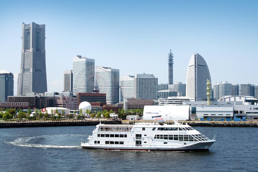 Yokohama per Hafenrundfahrt entdecken